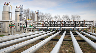 The impact of a Russia-Ukraine gas transit outage on Europe