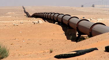 Myanmar to China onshore gas pipeline