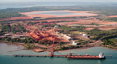 Nhan Co bauxite mine