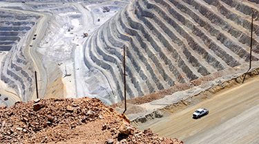 Romero copper mine