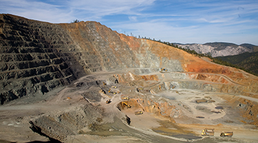 Minto copper mine