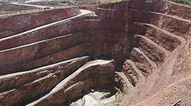 El Abra SxEw copper mine