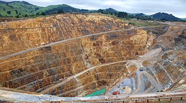 Tropicana gold mine