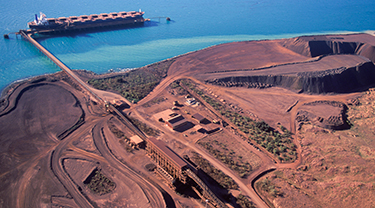 Magnetation iron ore mine
