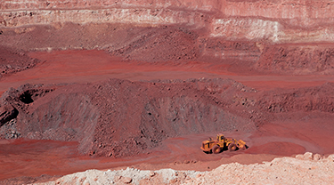 Wheelarra iron ore mine
