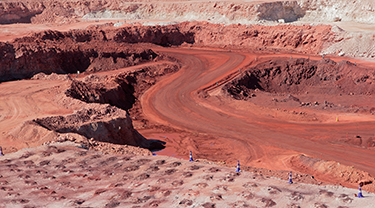 El Algarrobo iron ore mine