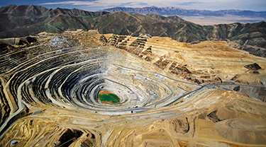 Changba (Baiyin) zinc mine