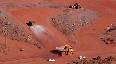 Hamersley - Brockman 4 iron ore mine
