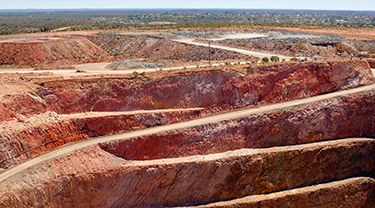 Breadnut Valley bauxite mine
