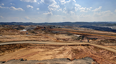 New Burgin zinc mine project