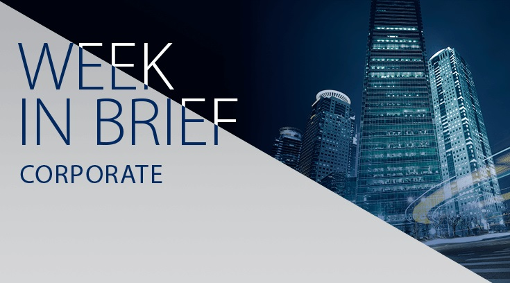 Corporate week in brief: markets weigh-up implications of Harvey